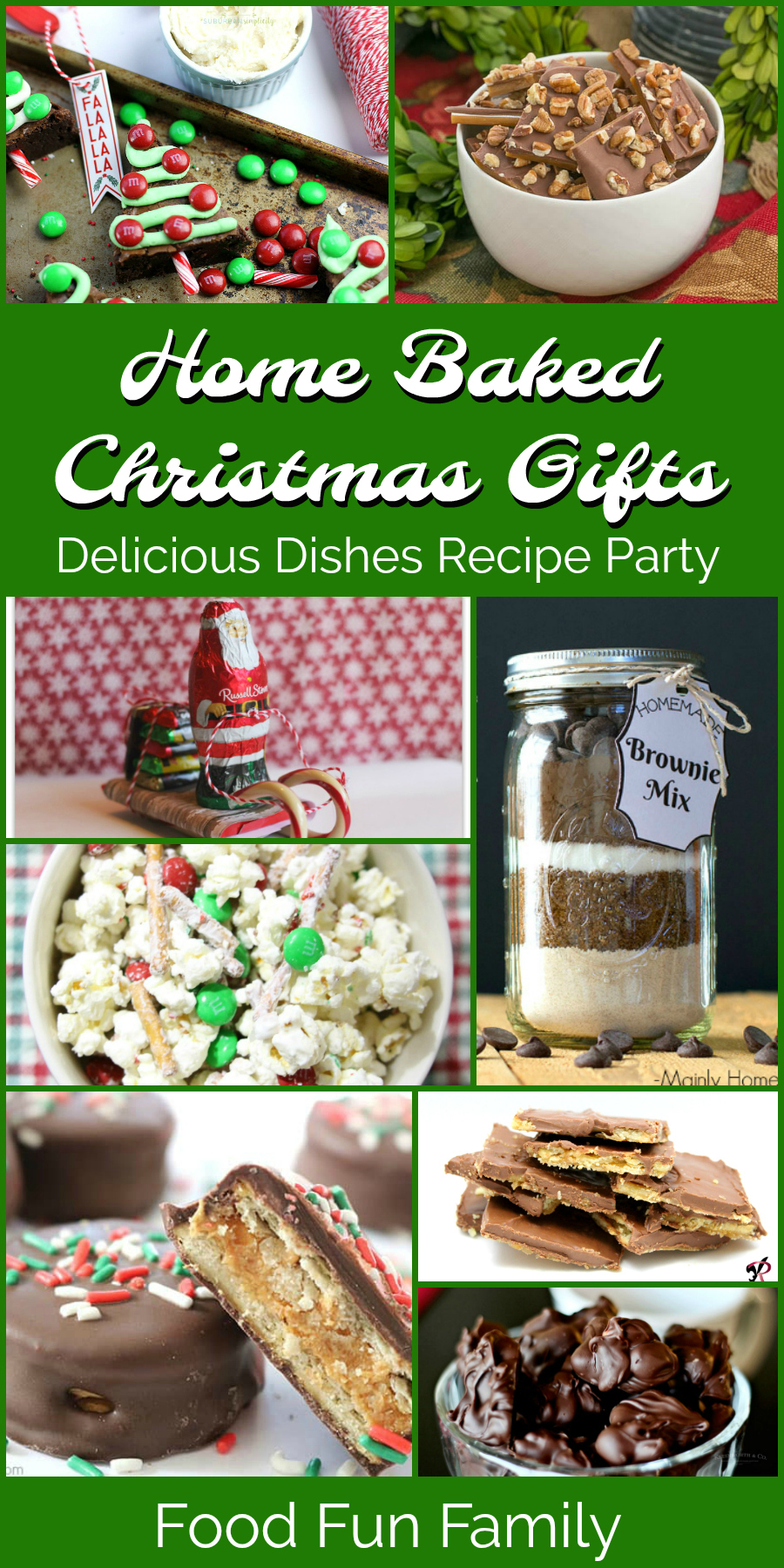 Home Baked Christmas Gifts - Delicious Dishes Recipe Party