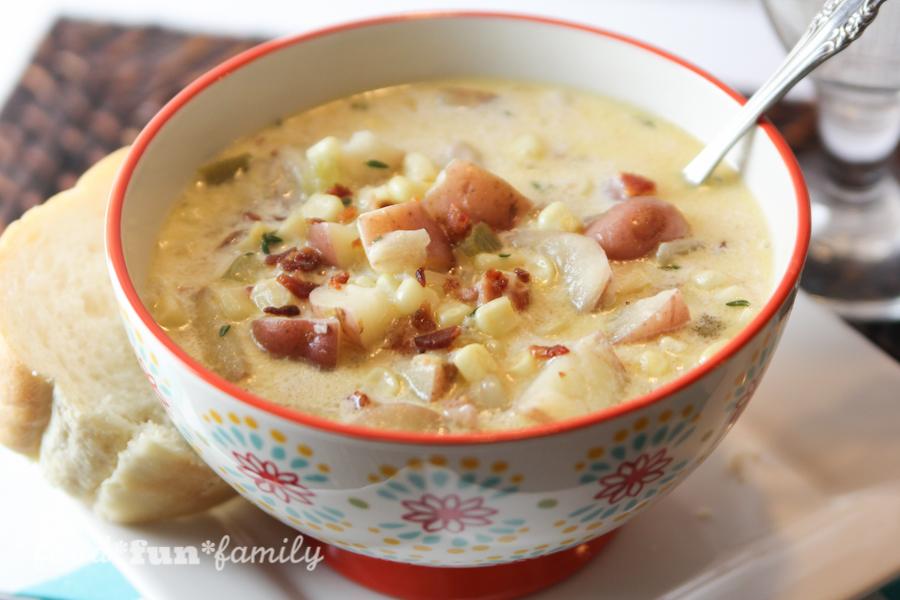 Instant Pot Bacon, Corn, and Potato Chowder Recipe