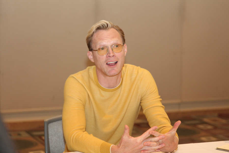 Paul Bettany on His Role As Dryden Vos in SOLO: A Star Wars Story #HanSoloEvent