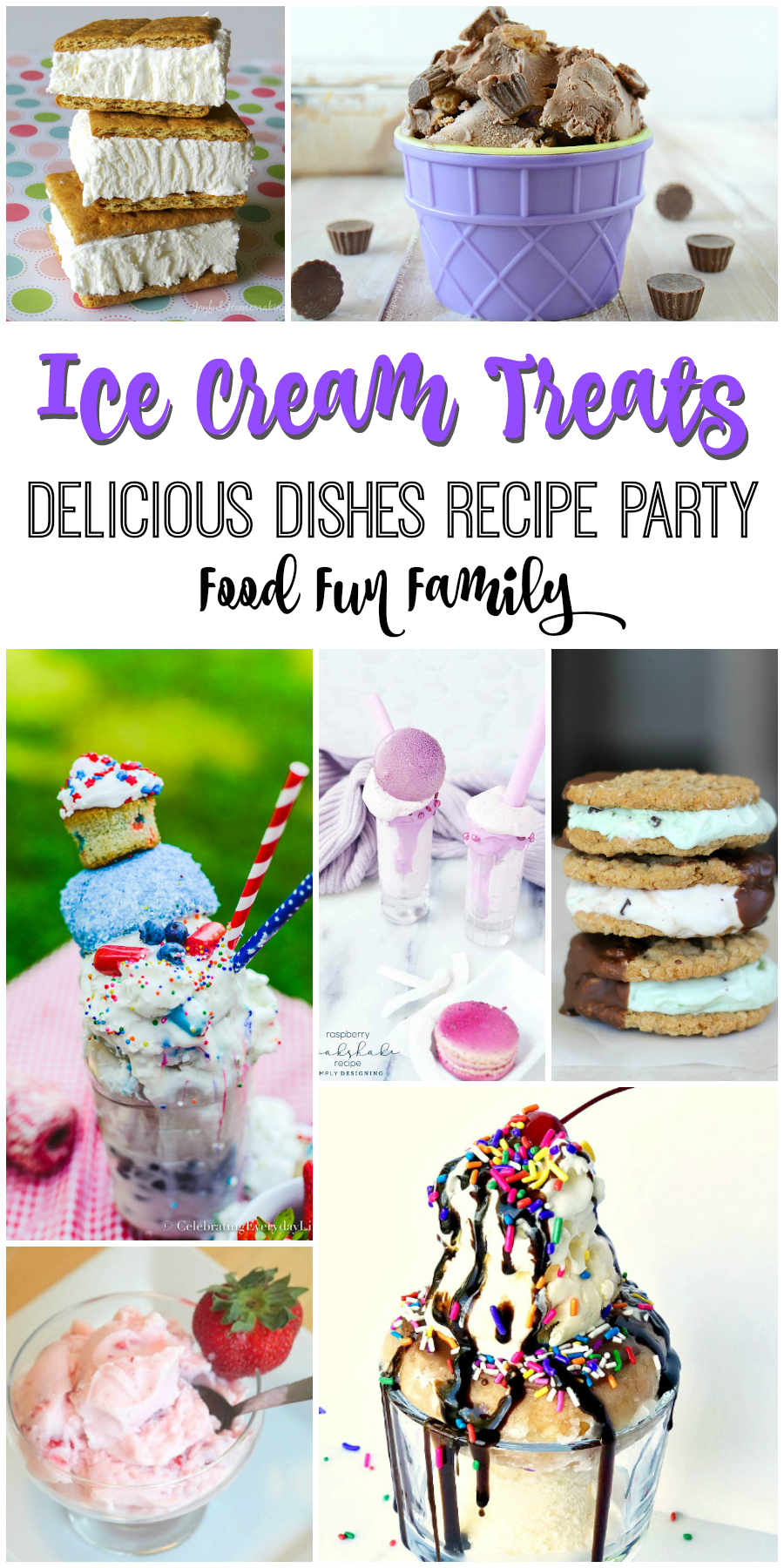 Ice Cream Treats - a Delicious Dishes Recipe Party by Food Fun Family