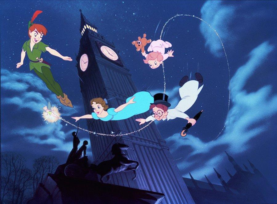 Peter Pan 65th Anniversary Blu-ray Box Art