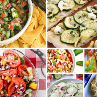 Summer Veggie Recipes - a Delicious Dishes Recipe Party Collection from Food Fun Family