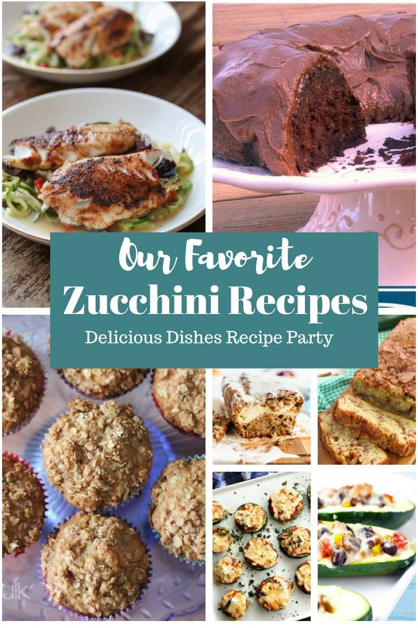 Our favorite zucchini recipes - a Delicious Dishes Recipe Party with Food Fun Family