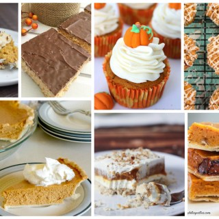 Pumpkin Spice Dessert Recipes – Delicious Dishes Recipe Party #133
