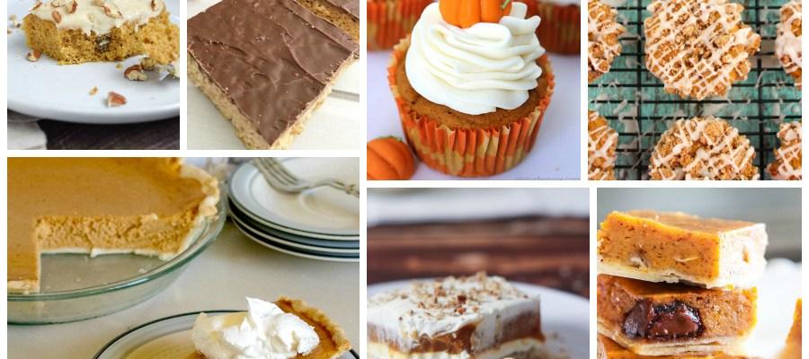 Pumpkin Spice Dessert Recipes – Delicious Dishes Recipe Party #133