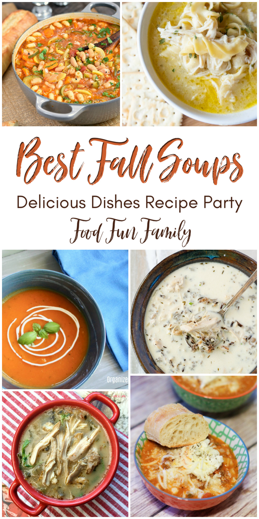 Best fall soups - a Delicious Dishes Recipe Party collection of our favorite soup recipes with Food Fun Family