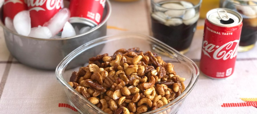 Coca Cola Spicy-Sweet Mixed Nuts