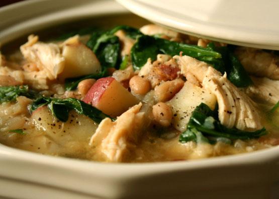 Chicken White Bean Stew