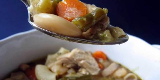 Homemade Turkey Vegetable Soup