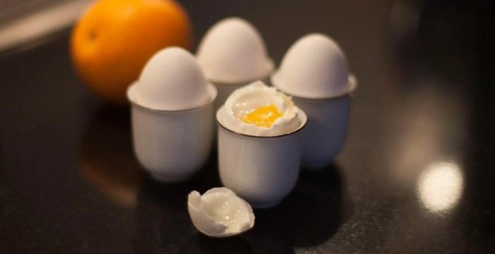 perfekte blødkogte æg med sous vide