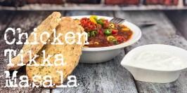 Chicken Tikka Masala med naanbrød