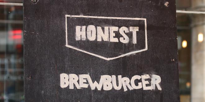 The 'Honest Burgers' #BrewBurger @ BrewDog Manchester