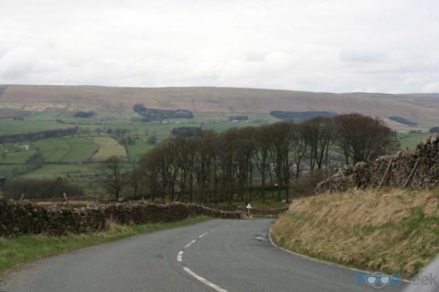 On The Way To Bashall Barn