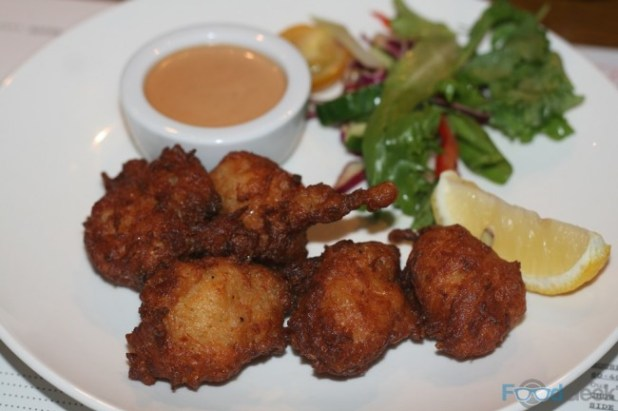 Lobster & Sweetcorn Fritters