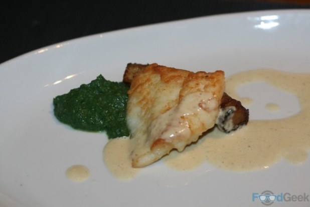 Turbot, fondant potato
