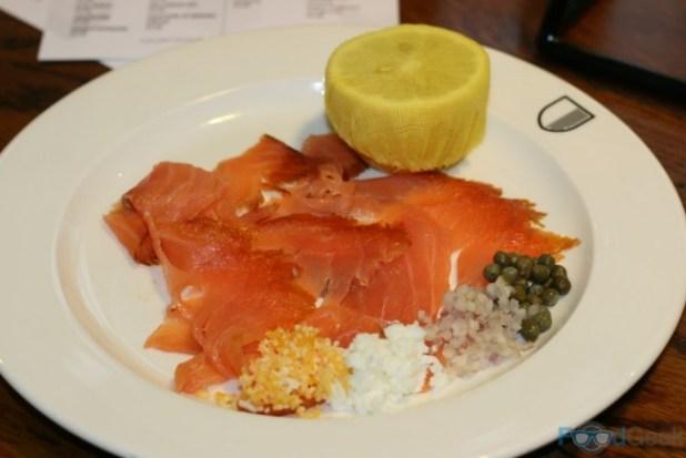 Sea Salt Cured Salmon