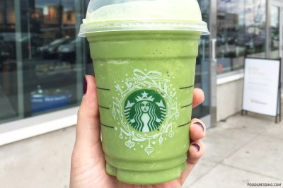 Review: I try Starbucks Green Tea Frappuccino | Foodgressing