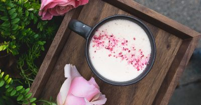 New Starbucks Tea Latte: Blossoming Rose, Matcha, Rooibos ...