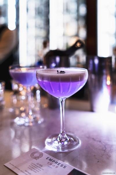 Fairmont Empress Victoria Cocktail: The Q 1908 feat ...
