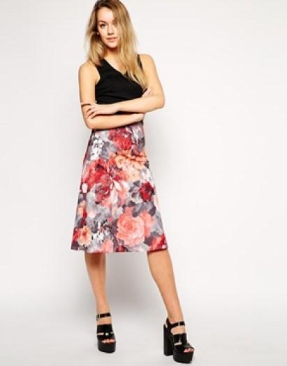Floral Skirt - ASOS