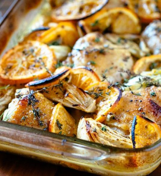 Oven Roasted Orange Chicken - Swanky Recipes