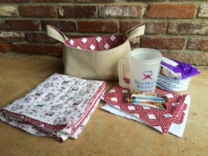 Perfect Baby Gift - Fabric Basket