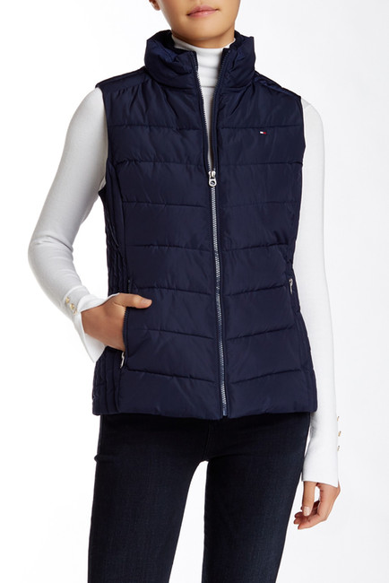 Tommy Hilfiger Knit Trim Vest