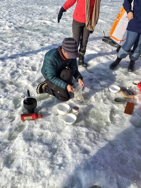 Foodicles Lake Abashiri Ice Fishing 6