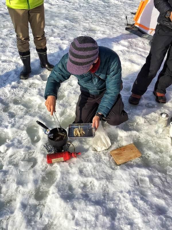 Foodicles Lake Abashiri Ice Fishing 8