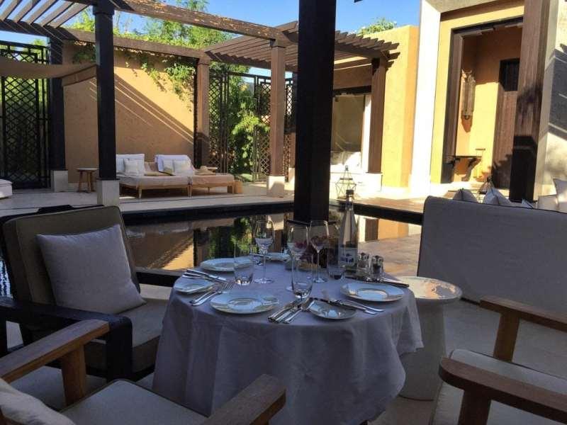 Foodicles Mandarin Oriental Marrakech In Villa Dining 1
