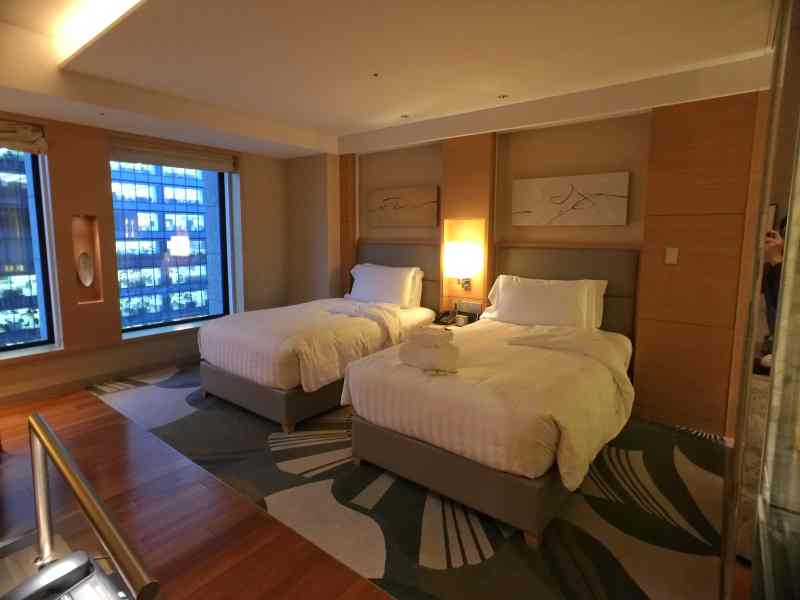 foodicles-intercontinental-osaka-6-twin-bed-room