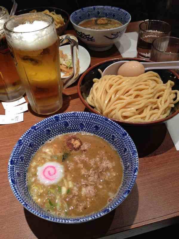 Foodicles Tokyo Station Ramen Street Rokurinsha Tsukemen