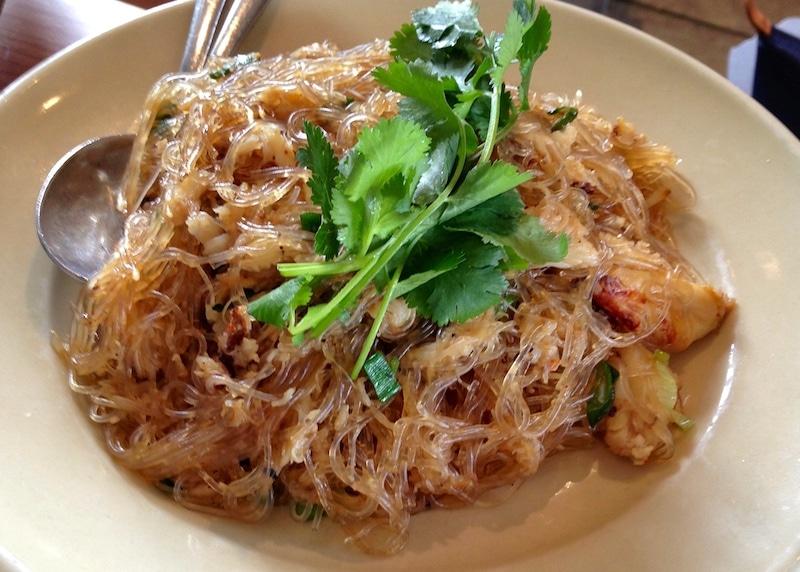Cellophane Noodles Slanted Door