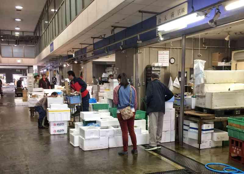 Osaka Central Fish Market