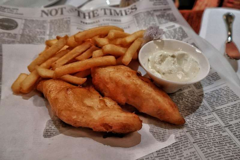 Best Fish and Chips in Hong Kong The Chinnery