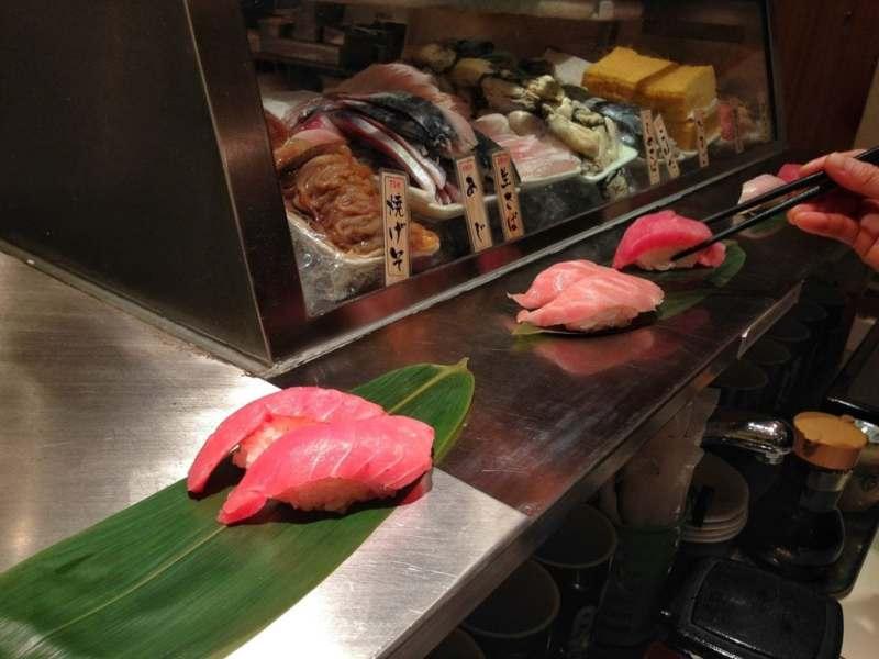 Standing Sushi Bar Tokyo Station