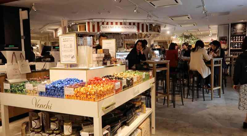 all about eataly in tokyo station