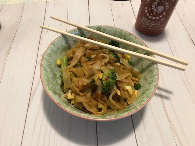 Easy Drunken Noodles