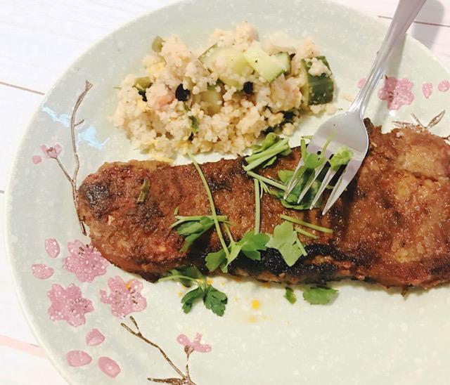 Lamb Steak with Tikka Masala