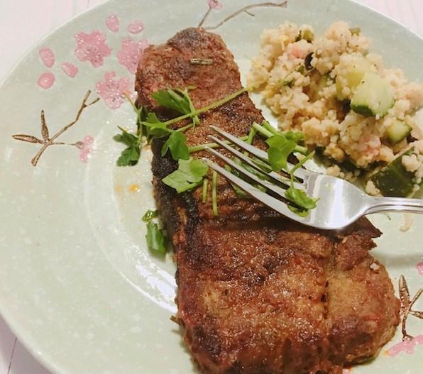 tikka masala lamb steak