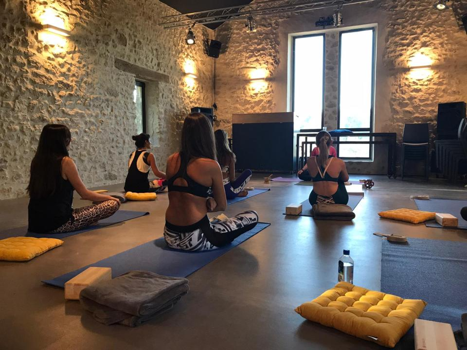 yoga domaine de gressac