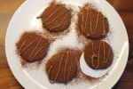 Chocolate Cardamom Cocoa Nibs Cookies
