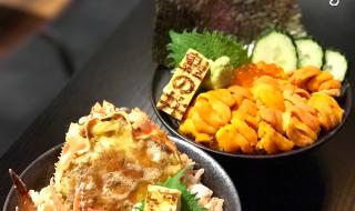 【豊之丼】冰火蟹丼