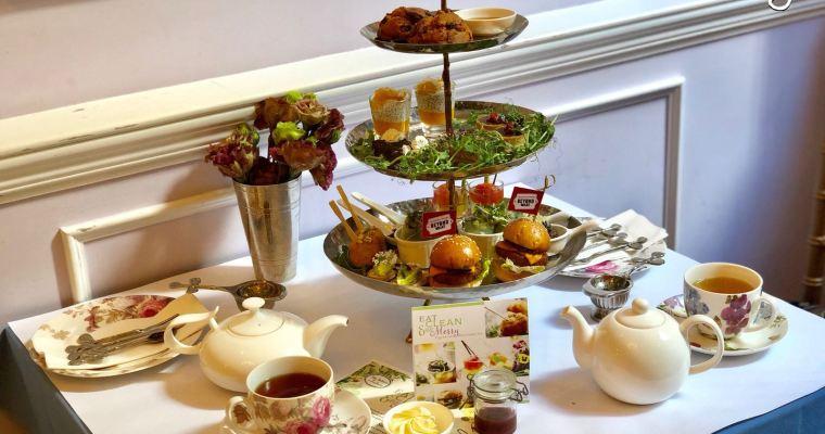 【Tea Saloon by AnotherFineDay】靚爆鏡英式素食下午茶