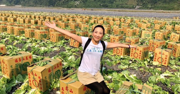 【鬈毛妹在宜蘭】台灣部落「樂水」三天兩夜遊。Day 2:蹦蹦車鐵道文青遊
