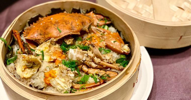 【東小館】可愛點心+無敵膏蟹蒸飯