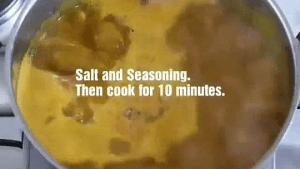 Seasoning to prepare banga soup by matsecooks