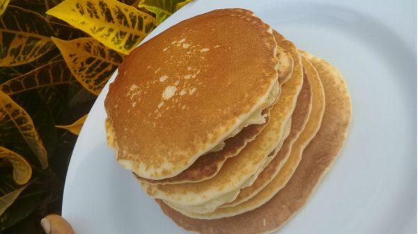 Made pancake