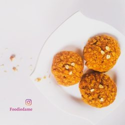 Low Sugar Whole Grain Cookies by foodiedame