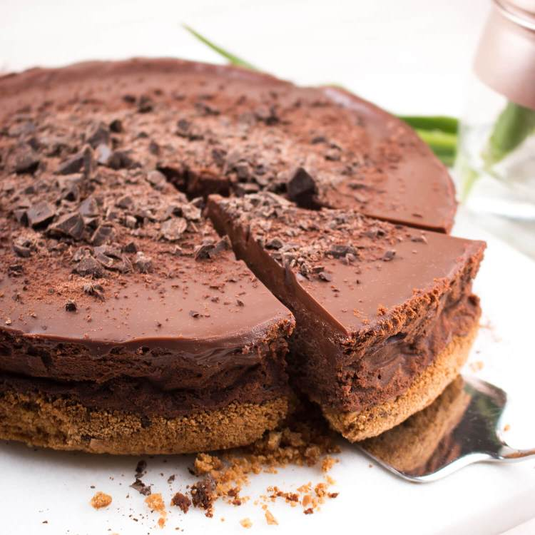 chocolade cheesecake cover